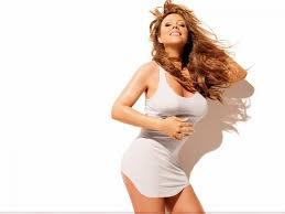 Mariah Carey Hits The Beach In Sardinia In A Tiny Black Bikini Top     FABZZ