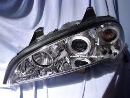 opel tigra tuning angel eye headlights opel tigra 95 03 2 ccfl halo rims tuning
