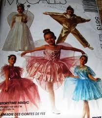 Childrens Halloween Costume Patterns Child Halloween Costume Pattern Mccall U0027s 5613 Fairy Queen Tinker