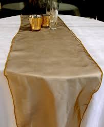 gold chair sashes bronze gold organza chair sashes bows table runners 6 5in x