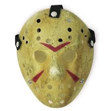 The Mask Costume Friday The 13th Jason Voorhees Freddy Myers Prop Hockey Mask