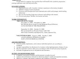 Great Resume Objective Statements Examples Good Nursing Resume Examples Resume Example And Free Resume Maker