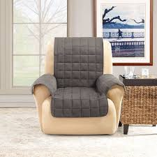 sure fit ultimate waterproof quilted pet recliner cover walmart com