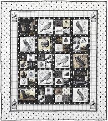 halloween panel fabric free pattern