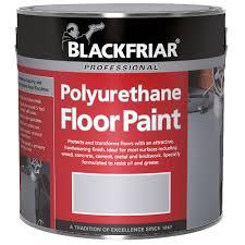 Red Floor Paint Blackfriar Polyurethane Floor Paint For Indoor Outdoor Use 5l Tile Red
