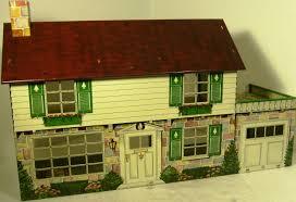 House Plate Stunning 1960 U0027s Marx Tin Plate Dolls House Severn Beach Antiques