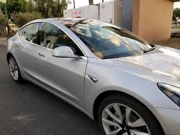 tesla model 3 spotted looking ready for production