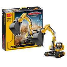 aliexpress com buy decool technic city series excavator building