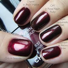chanel in 637 malice comparisons 15 polishes