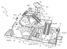 patent us7618301 fold out playsets with pop up structures