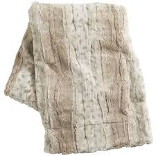 Faux Fur Blanket Queen Faux Snow Leopard Fuzzy Throw Pier 1 Imports