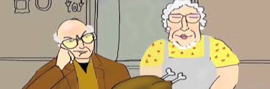 larry david s thanksgiving special animated collider