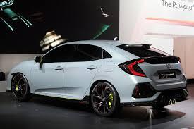 bronco prototype official civic hatchback prototype unveiled 2016 honda civic