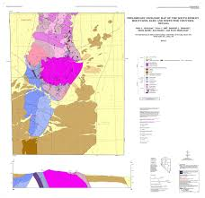 Map Of The South Preliminary Geologic Map Of The South Kinsley Mountains Elko And