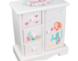 personalized girl jewelry box upright jewelry box etsy