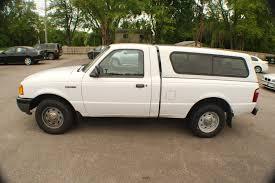 ranger ford 2001 2001 ford ranger white used 4x2 reg cab truck sale