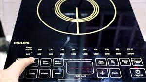 Electric Induction Cooktop Reviews Philips Induction Cooker Demo Youtube