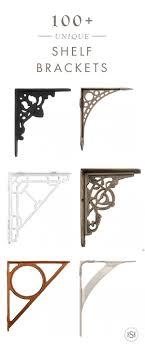 rack decorative shelf brackets black shelving brackets