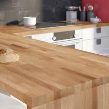 cuisine plan de travail bois massif plan de travail cuisine bois massif avis idée de modèle de cuisine