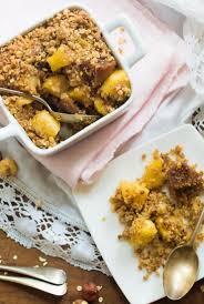cuisiner flocon d avoine crumble gourmand pomme figue aux flocons d avoine et de sarrasin