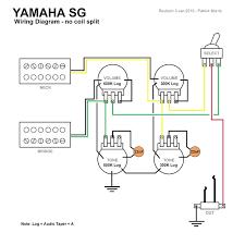 wiring diagram for yamaha electric guitar powerking co