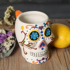 creative mug designs wholesale new design creative gifts funny skeleton 3d skull mug cute