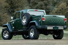 jeep comanche spare tire carrier confirmation the jeep wrangler pickup is happening motor1 com