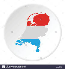 Map Of Holland Map Of Holland Icon Flat Style Stock Vector Art U0026 Illustration