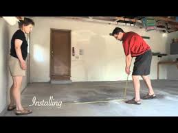 how to install flex tile garage flooring