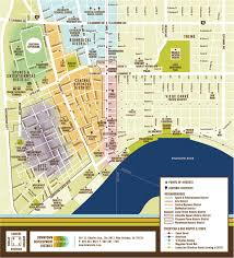 New Orleans Map Of Hotels by Downtown New Orleans Branding Case Study