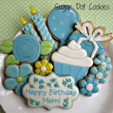 Halloween Sugar Cookies Decorating Idea by Sugar Cookies Custom Decorated Royal Icing Happy Birthday Flower
