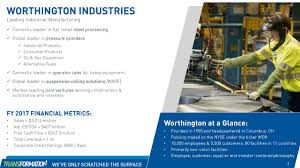 worthington industries inc 2017 q4 results earnings call