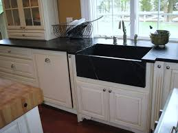 Soapstone Countertops Houston Soapstone Countertops And Sink With Top Of Island In Butcher Block