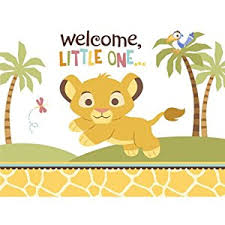 disney lion king baby shower invitations 8 count