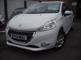 used peugeot used 2013 peugeot 208 active 3dr for sale in maidstone kent auto