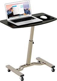Laptop Stand Desk Lecrozz Height Adjustable Mobile Laptop Stand Desk