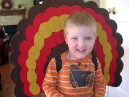 adorable wearable turkey feathers crochet baby