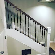 Iron Handrail For Stairs Best 25 Iron Stair Railing Ideas On Pinterest Wrought Iron