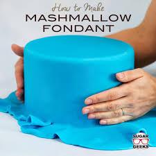 lmf marshmallow fondant recipe artisan cake company