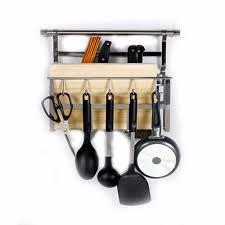 Kitchen Pot And Pan Storage Aliexpress Com Buy 18 8 Stainless Steel Kitchen Organizer Wall