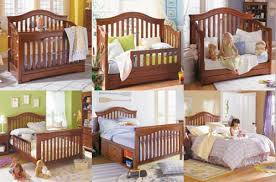 Conversion Cribs Beds Impressive Turn Bed Into Crib Equalvoteco Pertaining To Crib To