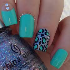 easy leopard print nail art tutorial youtube