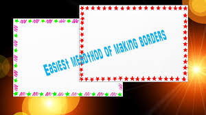 Designs For Decorating Files How To Decorate Borders Of Project Files 2 Attractive Borders