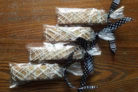 Bridal Shower Gift Basket Ideas Almond Biscotti Set Of 12 Bridal Shower Favor Wedding Favor