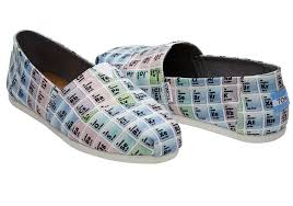 toms periodic table shoes multi toms periodic table women s classics womens periodic