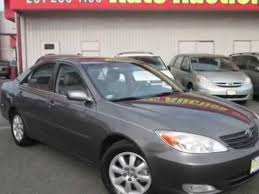used toyota camry 2003 2003 toyota camry xle sedan jersey state auto auction used