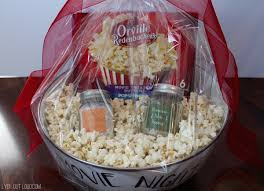 Date Night Basket Movie Night Gift Package Lydi Out Loud