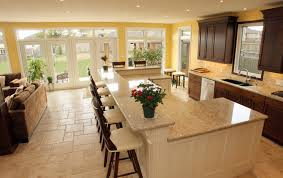 Large Kitchen With Island Inspiring Large Kitchen Island With Seating And Large Kitchen