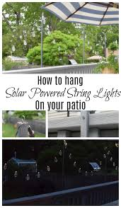 Poles For String Lights by Friday Favorites Starts With Solar Powered String Lights Nesting
