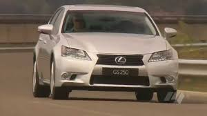 lexus es250 australia lexus gs 250 video review youtube